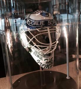 CGS helmet in display at Wild restaurant.